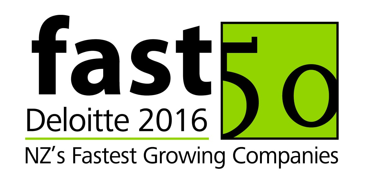 Deloitte 2016 Nz's Fastest Growing Companies award